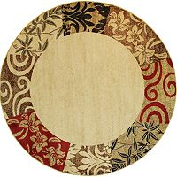 Infinity Home Barclay Vane Willow Rug - 7'10'' Round
