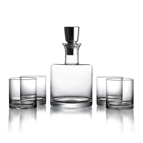Fitz & Floyd Linus 5-pc. Whiskey Glass Set