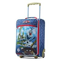 Disney's Frozen Olaf 18-Inch Kids Luggage by American Tourister