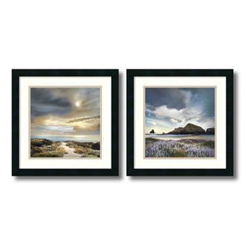 ''Sense of Direction'' 2-piece Framed Wall Art Set
