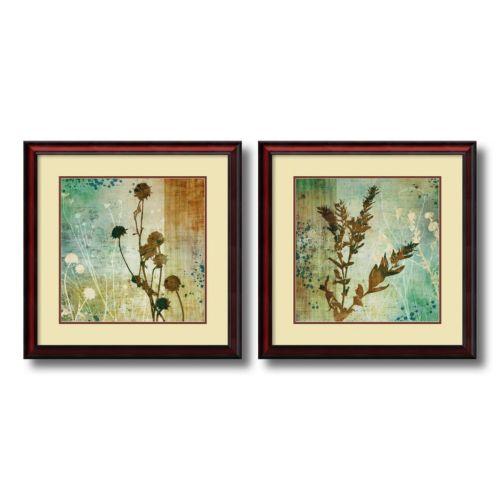 """""""Organic Elements"""" 2-piece Framed Wall Art Set"""