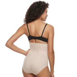 Naomi & Nicole Back Magic Shaping High-Waist Brief 7085