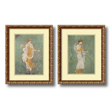 'Primavera & Diana'' 2-piece Framed Wall Art Set