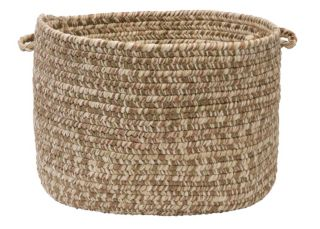 "Colonial Mills Shaded Tweed 18"" x 12"" Indoor Outdoor Utility Basket"