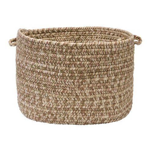 Colonial Mills Shaded Tweed Indoor Outdoor Utility Basket