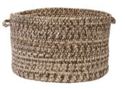 "Colonial Mills Shaded Tweed 18"" x 12"" Indoor Outdoor Utility Basket"