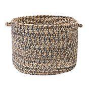 Colonial Mills Shaded Tweed 14' x 10' Indoor Outdoor Utility Basket