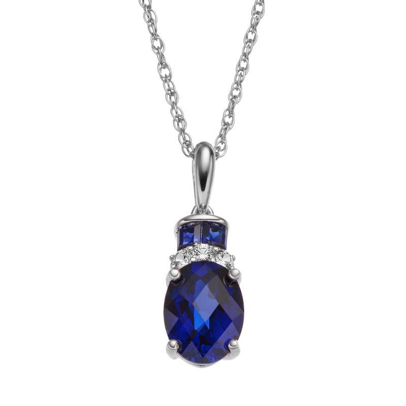 sapphire necklaces jewelry kohl s