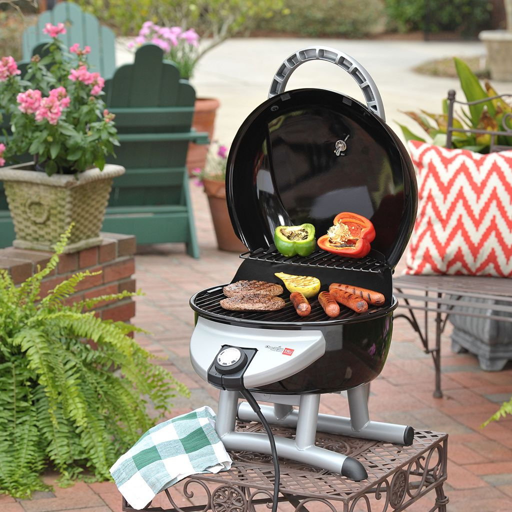 Char-Broil Patio Bistro TRU-Infrared Portable Electric Tabletop Grill