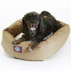 Majestic Pet Two Tone Bagel Pet Bed - 19'' x 24''