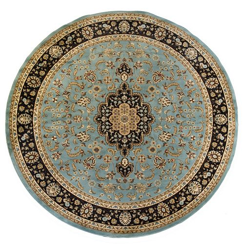Infinity Home Barclay Medallion Kashan Rug - 7'10'' Round