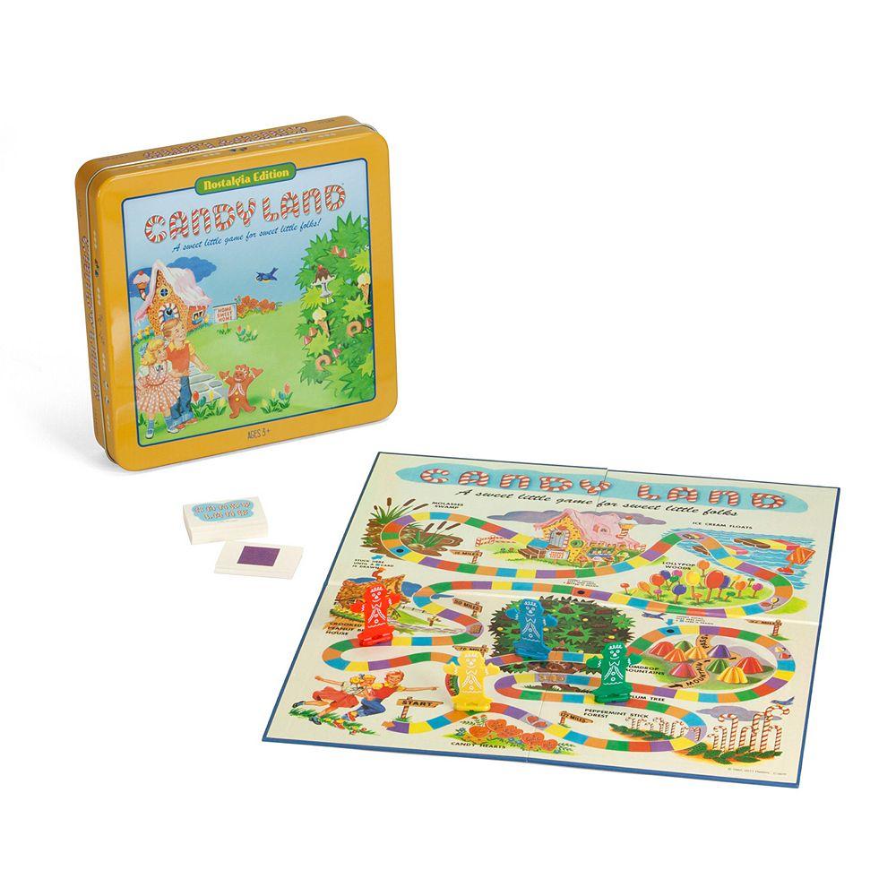 Candy Land Nostalgia Tin Board Game by Hasbro