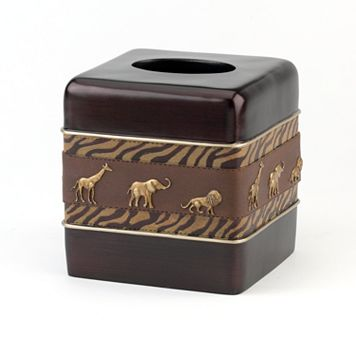 Avanti Animal Parade Tissue Box Cover