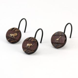 Avanti Animal Parade 12-pk. Shower Curtain Hooks