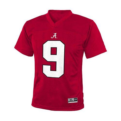 cheap for discount 8f28d 3c52d Boys 8-20 Alabama Crimson Tide Replica NCAA Football Jersey