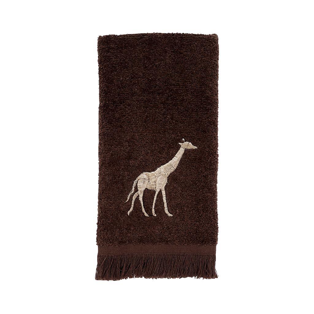 Avanti Animal Parade Fingertip Towel