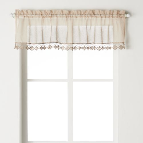 CHF Leanne Voile Tier Valance - 58