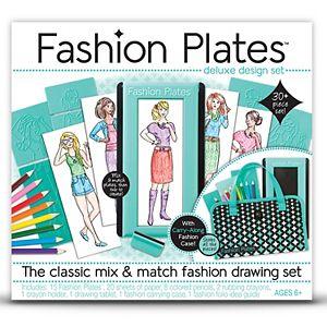 Fashion Plates Design Set