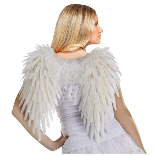 Feather Angel Costume Wings - Adult