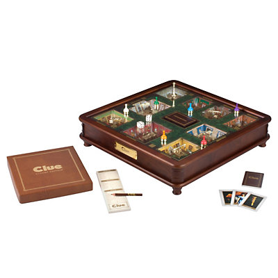 Clue Luxury Edition Board Game by Hasbro