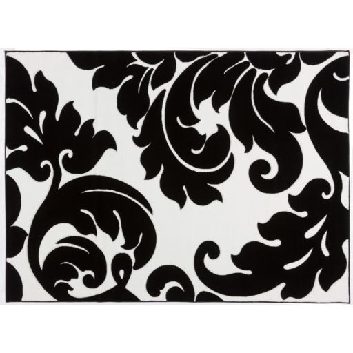 Infinity Home Melody Vines Damask Rug - 7'10'' x 9'10''