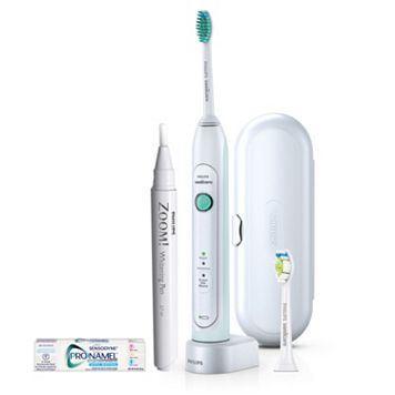 Sonicare HealthyWhite Rechargeable Toothbrush Set