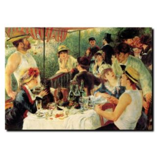 35'' x 47'' ''Luncheon of the Boating Party'' Canvas Wall Art by Pierre Renoir