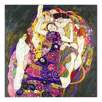 35'' x 35'' ''Virgins'' Canvas Wall Art by Gustav Klimt