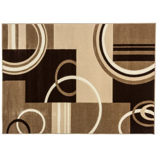 Infinity Home Ruby Galaxy Waves Rug - 7'10'' x 9'10''