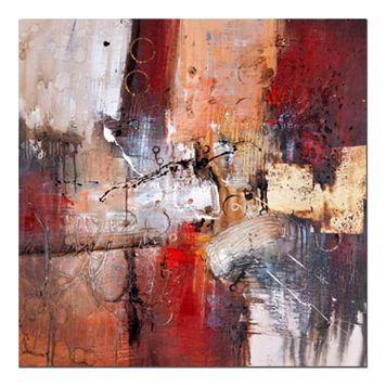 35'' x 35'' ''Cube Abstract V'' Canvas Wall Art