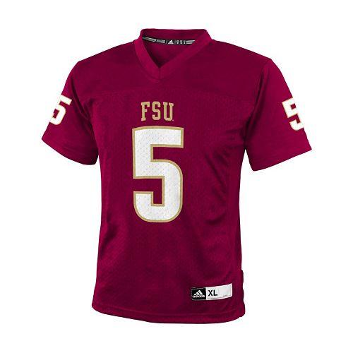 info for 4bd41 e358b Boys 8-20 adidas Florida State Seminoles Replica NCAA Football Jersey