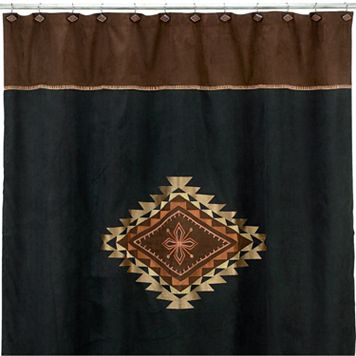 Avanti Mojave Fabric Shower Curtain