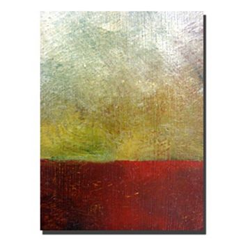 32'' x 24'' ''Earth Study I'' Canvas Wall Art by Michelle Calkins