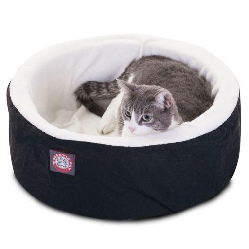 Majestic Pet Round Cuddler Pet Bed - 16'' x 16''