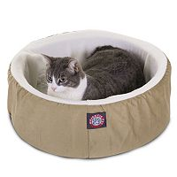 Majestic Pet Round Cuddler Pet Bed - 16'' x 16''