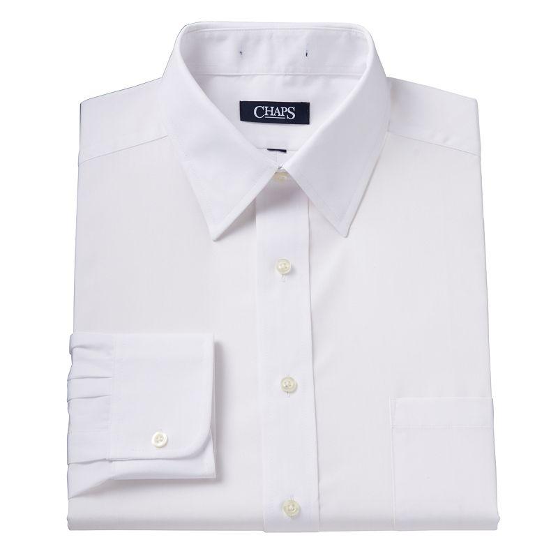 Men's Chaps Classic-Fit Solid Dress Shirt