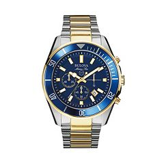 Bulova Men's Marine Star Two Tone Stainless Steel Chronograph Watch - 98B230