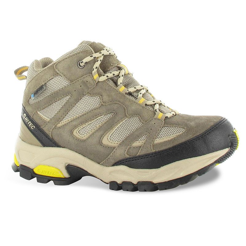 Hi-Tec Beige/Khaki Fusion Womens Waterproof Hiking Boots