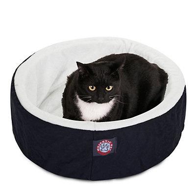 Majestic Pet Round Cuddler Pet Bed - 20'' x 20''
