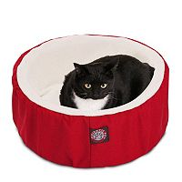 Majestic Pet Round Cuddler Pet Bed - 20'' x 20''