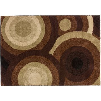 Infinity Home Avenue Positive Circles Rug - 8'2'' x 9'10''