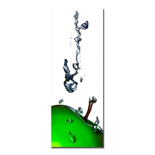 ''Granny Splash II'' Apple Canvas Wall Art