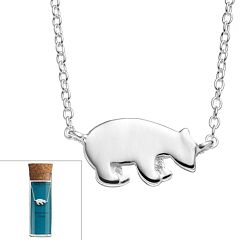 Sterling Silver Polar Bear Necklace