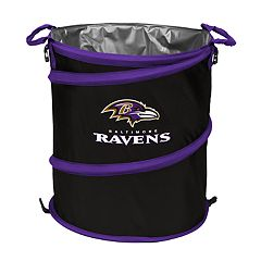 Logo Brand Baltimore Ravens Collapsible 3-in-1 Trashcan Cooler