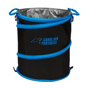 Logo Brand Carolina Panthers Collapsible 3-in-1 Trashcan Cooler