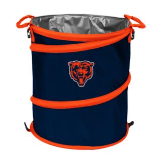 Logo Brand Chicago Bears Collapsible 3-in-1 Trashcan Cooler