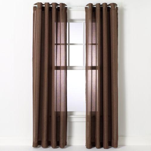 Dynasty Sheer Curtain - 54'' x 84''