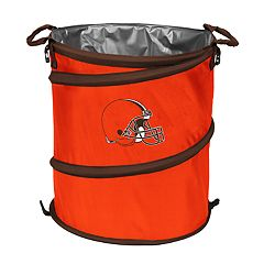 Logo Brand Cleveland Browns Collapsible 3-in-1 Trashcan Cooler