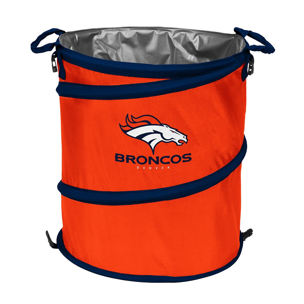 Logo Brand Denver Broncos Collapsible 3-in-1 Trashcan Cooler