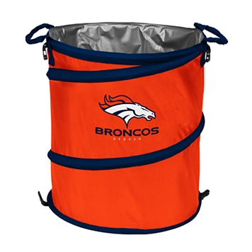 Logo Brand Denver Broncos Collapsible 3-in-1 Trashcan Cooler
